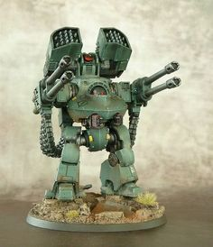 40k - Sons of Horus Deredeo Dreadnought by Patrick Schimak