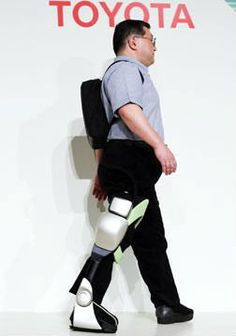 Toyota robotic technology aimed at helping patient's ambulate and rehab quicker