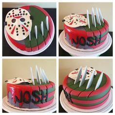 FREDDY vs JASON CAKE