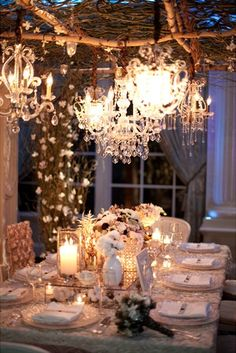 Branches, vines and chandeliers - Grace Ormonde