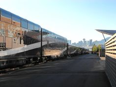Rocky Mountaineer train in Vancouver British Columbia ! #Canada @RMountaineer