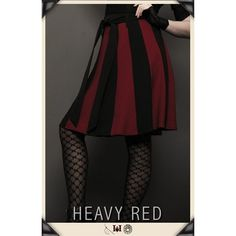RUE MORGUE STRIATION GOTHIC SKIRT ❤ liked on Polyvore featuring skirts, gothic skirts, red tartan skirt, long gothic skirts, long red skirt and a line skirt