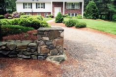 natural stone piers - Google Search