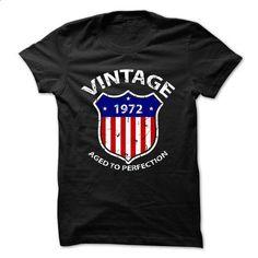 American Classic - Aged to Perfection Crest 1972 - #tee trinken #adidas sweatshirt. BUY NOW => https://www.sunfrog.com/Birth-Years/American-Classic--Aged-to-Perfection-Crest-1972.html?68278