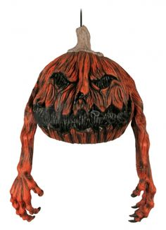 Large latex Halloween hanging decoration in the form of a rotten gourd drop. Very scary, very ugly and very cool! Outdoor Halloween Parties, Halloween Party Decor, Evil Pumpkin, Online Party Supplies, Very Scary, Halloween Accessories, Scary Movies, Spirit Halloween, Gourds