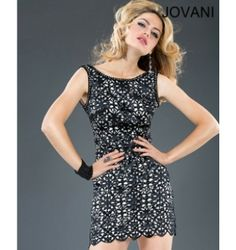 $550.00 Jovani Short Dress at http://viktoriasdresses.com/ Through John's Tailors