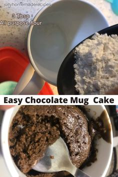 Yummy Snacks, Healthy Desserts, Delicious Recipes, Sweet Recipes, Yummy Food, Eggless Microwave Cake Recipe, Mug Cake Microwave, Fun Baking Recipes, Cake Recipes