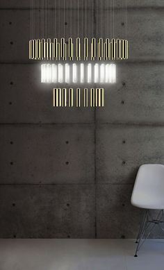 LED porcelain chandelier with dimmer RAINY DAY   Porcelain chandelier by Beau & Bien