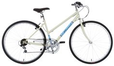 Enjoy leisure riding on the Real Clifton Womens Hybrid Bike.