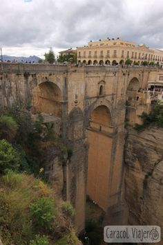 Puente Nuevo Tajo de Ronda Andalucia, Malaga, Brooklyn Bridge, Louvre, Building, Travel, Ronda Spain, Koh Tao, Popular