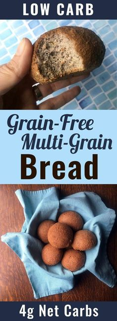 If you are looking for a low carb recipe to fill the place that bread used to hold in your heart, you should give this recipe a try. This recipe is Low Carb, Keto, Paleo, Atkins, LCHF, Sugar Free and Gluten Free.