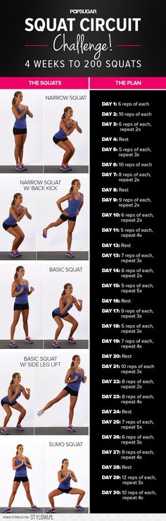 squat challenge na Stylowi.pl