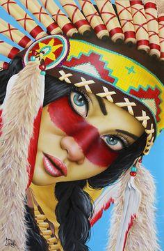 """""""Vamos brincar de índio, mas sem mocinho pra me pegar. Venha pra minha tribo que eu sou cacique e você é o meu par..."""". DC"""