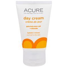 Acure Organics, Day Cream, Gotu Kola Stem Cell + 1% Chlorella Growth Factor, 1.75 fl oz (50 ml)