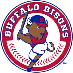 Buffalo Bisons Primary Logo on Chris Creamer's Sports Logos Page - SportsLogos. A virtual museum of sports logos, uniforms and historical items. Buffalo Logo, Buffalo News, Milb Teams, Baseball Teams, Baseball Posters, A Team, Team Logo, Bison Logo