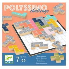 Djeco Strategický hlavolam - Polyssimo Challenge | edukacnehracky.sk Toy Store, Baby Shop, Challenges, This Or That Questions, Games, Canada, Gift Ideas, Amazon, School