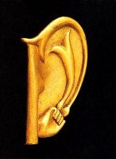 meret oppenheim - giocometti's ear