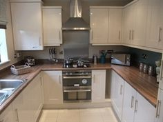 4 bedroom detached house for sale in Newton-le-Willows, Merseyside, - The Crathorne Kitchen Layout, Diy Kitchen, Kitchen Interior, Kitchen Dining, Kitchen Decor, Persimmon Homes, Kitchen Utilities, New Home Designs, Kitchen Cupboards