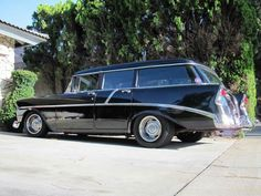 1956 Chevy 4-door wagon