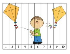 Freebie- Letter of the Week- K is for Kite Puzzle Counting Activities, Alphabet Activities, Craft Activities For Kids, Kindergarten Activities, Fun Math, Preschool Activities, Kindergarten Teachers, I Love School, Letter Of The Week