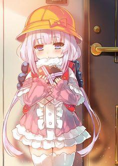 Kanna Kamui - Kobayashi-san chi no maid dragon Anime Chibi, Lolis Anime, Loli Kawaii, Kawaii Anime Girl, Anime Art Girl, Anime Girls, Dragon Girl, Miss Kobayashi's Dragon Maid, Beautiful Anime Girl