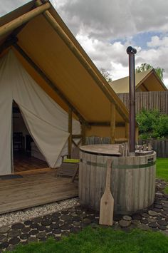 Glamping in Slovenia at Garden Village Bled - The Aussie Flashpacker Most Luxurious Hotels, Luxury Hotels, Luxury Apartments, Lake Bled, Open Fireplace, Master Chef, We Fall In Love, World's Most Beautiful, Wooden Flooring