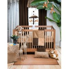 Glenna Jean Tanzania Crib Bedding Collection - BedBathandBeyond.com
