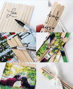 dekorolog: Sevgiliye El Yapımı Hediyeler - 16 Yaratıcı Fikir: