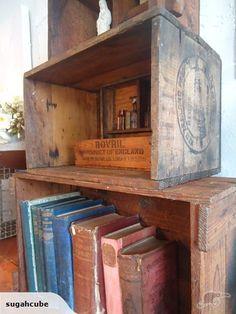 VINTAGE~Large OLD Wooden BOX   Trade Me