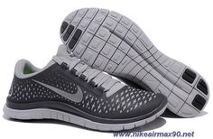 the latest 92e0c c026e New Mens Nike Free 3.0 V4 Anthracite Reflect Silver Wolf Grey 511457-002 Nike  Free