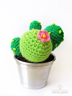 #DIY #crochet #cactus