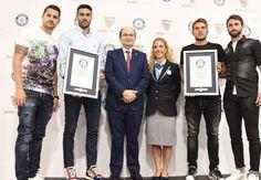 El Sevilla recibe dos reconocimientos de los Guinness World Records - Goal.com
