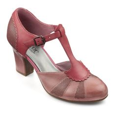1920s shoes. Sandy Shoes - Ultra chic. Ultra comfy - Mauve Shadow Pink size 11 $135.00 AT vintagedancer.com