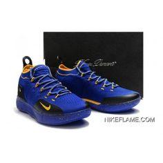 wholesale dealer 0e734 2ee99 Nike KD 11 Blue Black Yellow Big Deals