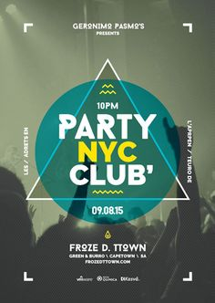Club Party Free Poster Template - http://ffflyer.com/club-party-free-poster-template/ Enjoy downloading the Club Party Free Poster Template created by Brandsclap   #Alternative, #Club, #Dance, #Dj, #Edm, #Electro, #Event, #Indie, #Minimal, #Nightclub, #Party, #Promotion, #Rock, #Techno, #Trance, #Typographical