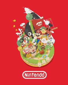 Super Mario Bros #イラスト #かわいい #スーパーマリオ #任天堂 #コンテスト #ファッション #illustagram #illustrator #utgp #supermariobros #nintendo #kawaii #character #game #tshirts #fashion #design #2017