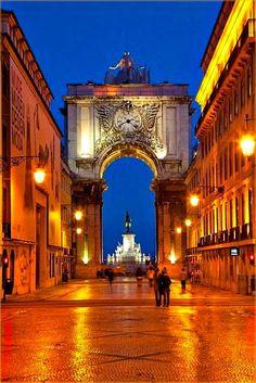 Google+Arco da Rua Augusta Lisboa Portugal