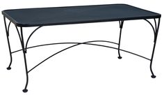 """36"""" x 48"""" Coffee Table by Woodard Outdoor Furniture - Home Gallery Stores"""