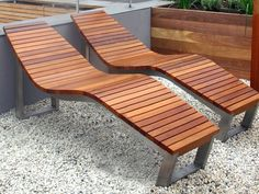 wood patio lounge chairs - Google Search