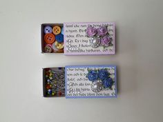 Matchboxes with new life!