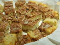 Sour Cream Coffee Cake Bars (these turned out so moist and delicious!!)