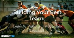 Building Your Best Team: Learn to Value and Appreciate Differences http://www.lawrencetam.net/building-your-best-team-learn-to-value-and-appreciate-differences/
