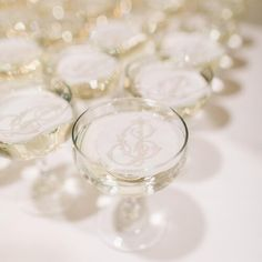 Raise a (monogrammed) glass - it's Friday 🥂  Imagine being a guest at this wedding and receiving this champagne with monogrammed wafer paper when you walk in? What an introduction!  Happy weekend to everyone and stay warm! . . . Design & Coordination / @augusteventsbr Photography & Videography / @brookeboydd . . . #cheers #illtake2 #custommonogram #monogramlove #2lettermonogram #champagneglass #receptiondetails #duogram #couplesmonogram #vintagemonogram #antiquemonogram #w Monogram Wedding, Wedding Monograms, Wafer Paper, Vintage Monogram, Photography And Videography, Happy Weekend, Stay Warm, Special Day, Champagne