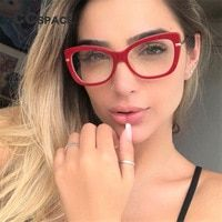 84e5cc6a76 CCSPACE 45548 Ladies Square Glasses Frames For Women Metal Legs Designer  Optical EyeGlasses Fashion Eyewear Computer