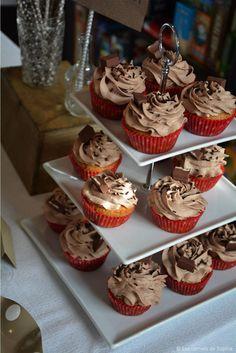 Cupcakes aux Kinder® Maxi - Les carnets de Sophie