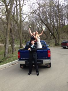 So much fun goofing off prom