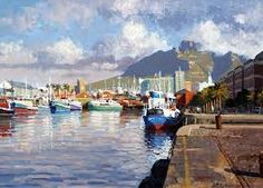 Alfred Basin at the Cape Town Waterfront South African Art, Impressionism Art, The World's Greatest, Art Boards, Art History, Fine Art America, Image Search, Wall Art, Landscape