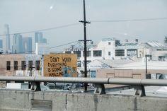 Utility Pole, No Worries, Street Art, Amazing