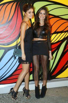 cd6eaaf40dc68 Sophie Charlotte e Thaila Ayala em festa de pré-carnaval! Macsi Acessórios
