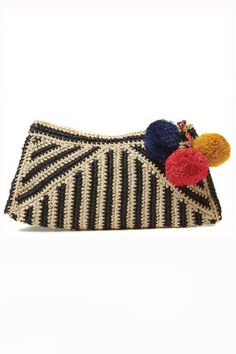 Sonia Pom Pom Clutch, Where would you carry this? http://keep.com/sonia-pom-pom-clutch-by-norine_luker/k/0kQV5UABM0/